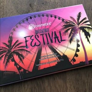 Bh cosmetic weekend festival palette